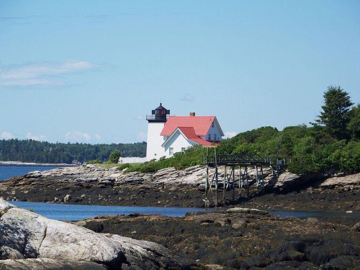 Hendricks head lighthouse maine lighthouses lighthouse