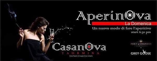 CASANOVA. L'aperitivo di Taormina.
