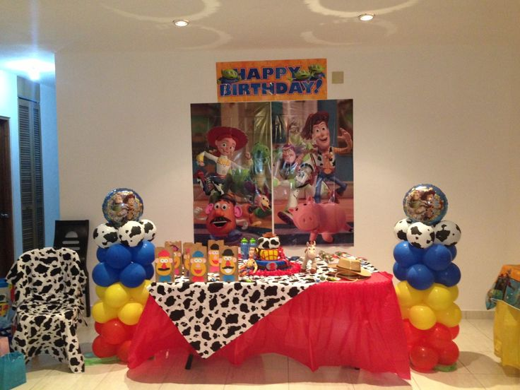 Toy Story Party Ideas Decorations : Toy story decoration birthday ideas