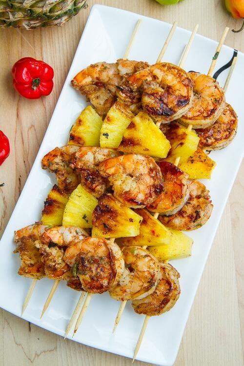 Shrimp & Pineapple.