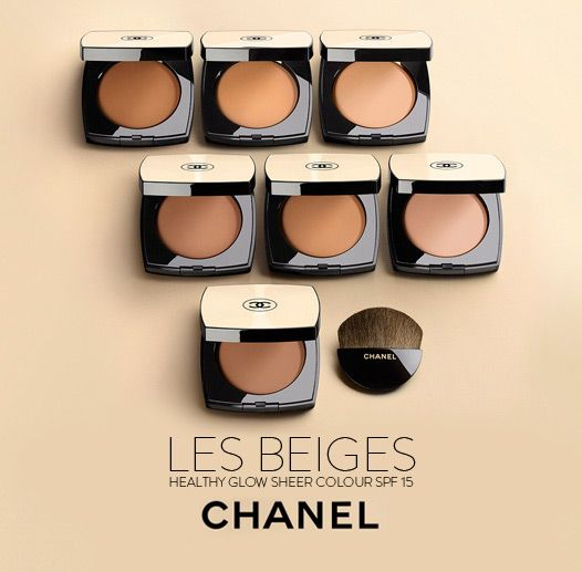 Chanel Les Beiges Healthy Glow Sheer Colour. Use it as a highlighter, a setting powder or as a bronzer. Never looks dull