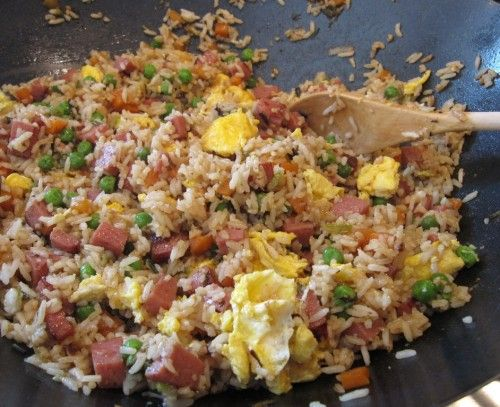 spam fried rice http://www.cookeatdelicious.com/grains-recipes/rice-recipes/spam-fried-rice-recipe.html