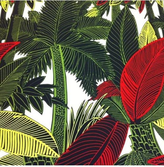 """Bahia,"" deep  lush jungle colourway - Alexandra Henry"