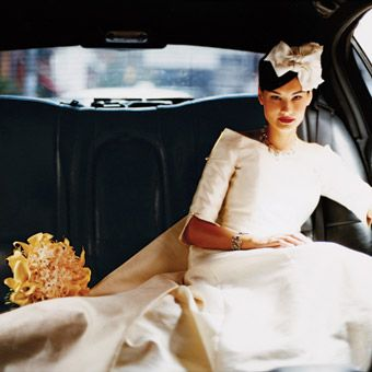 Elegant and Classic 60's Inspired Wedding Dress  If I was to do it all over again.