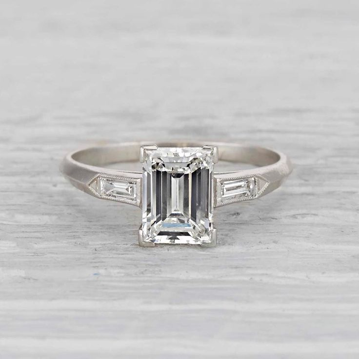 Vintage Art Deco ring Circa 1925 | ERSTWHILE