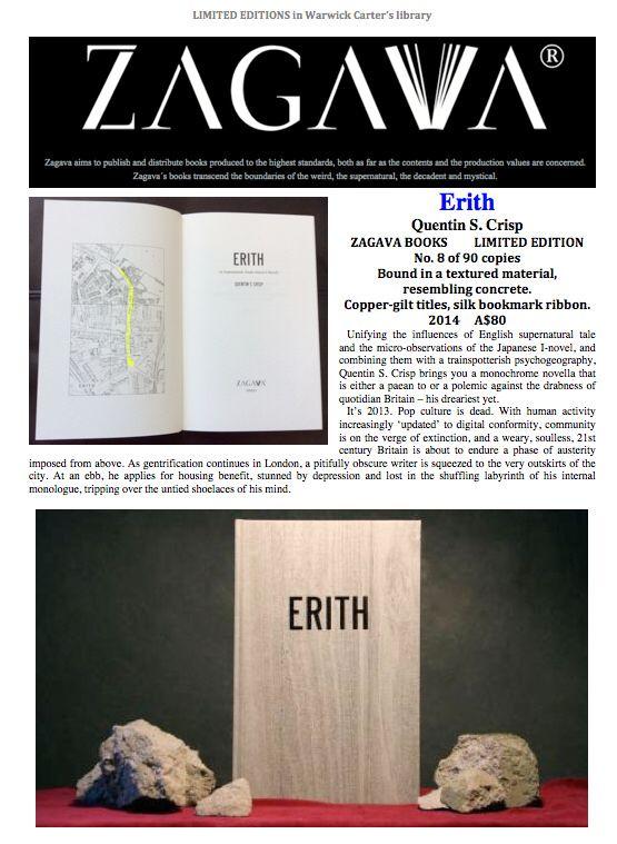 Erith : Quentin Crisp - ZAGAVA