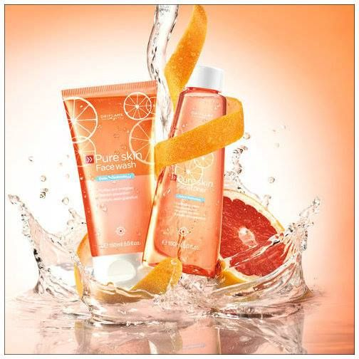 Pure Skin Grapefruit. Skincare by Oriflame. Limited Edition Summer 2013