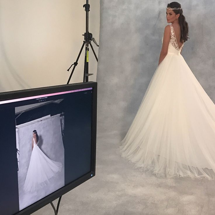 ✨Take centre stage in this sensational a-line ballgown 'Alba' by Viva Bride ✨ http://bit.ly/VB-Alba
