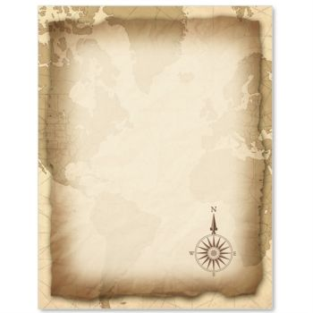 Vintage Map Border Papers Backgrounds Maps And Treasure