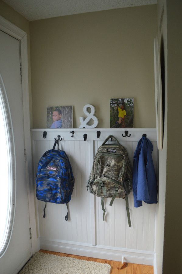 Home{work} Wednesday - Ms Moozy's Open House shares how she tackled the bookbag clutter at her front door.  Come on over and see how she did it.  There's lots more where this came from.  :)