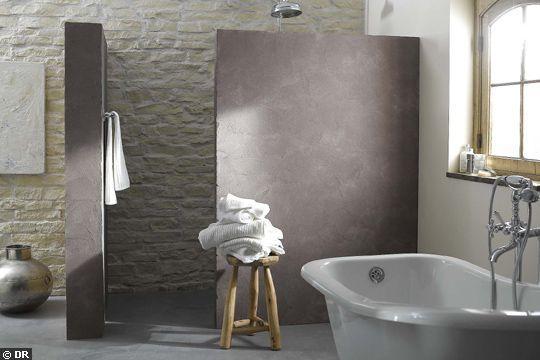 20 revêtements qu'on aime pour la salle de bains - CôtéMaison.fr