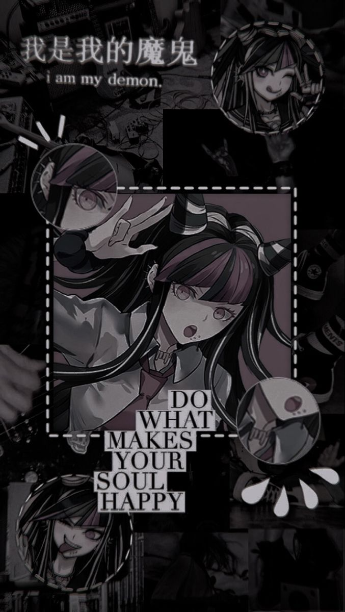 Danganronpa anime iphone wallpaper