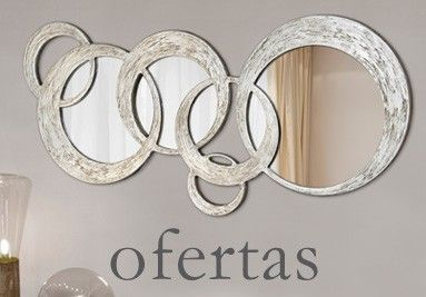 29 best espejos decorativos images on pinterest for Ofertas espejos decorativos