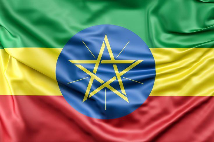 эфиопия картинка флага и герба