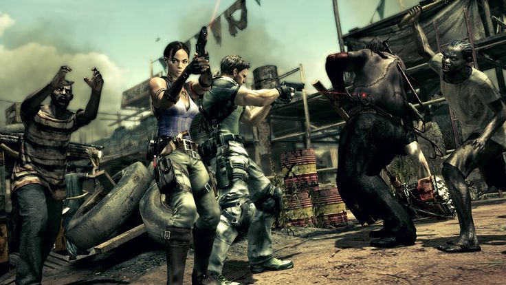 Resident Evil 5 Now Available On NVIDIA SHIELD Priced At $9.99 #Android #CES2016 #Google