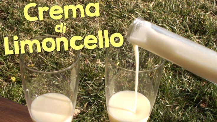 CREMA DI LIMONCELLO FATTA IN CASA DA BENEDETTA