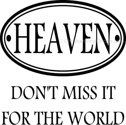 Heaven are you ready