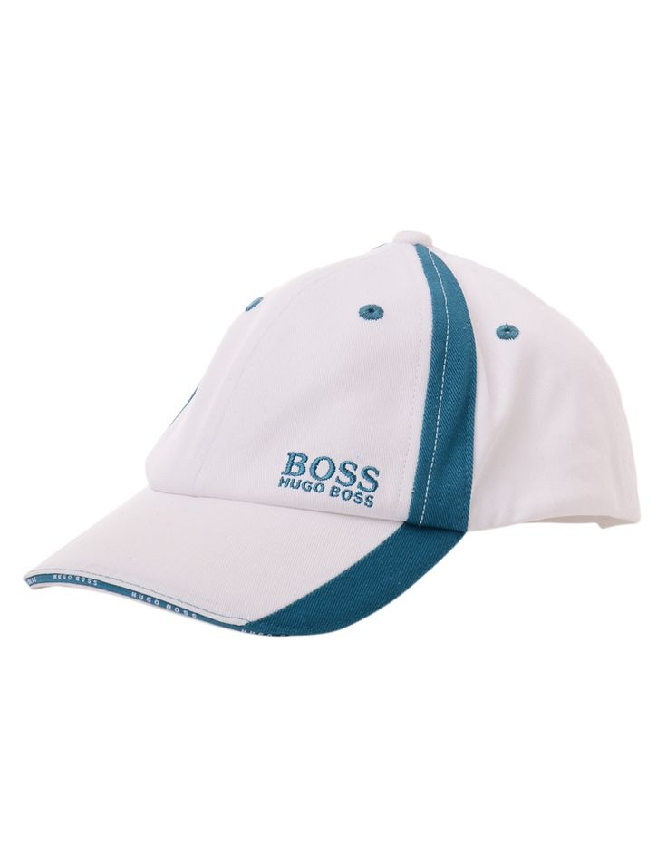 JUNIORS Boss White Two Tone Cap | Accent Clothing