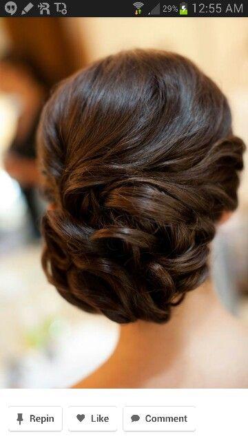 Peinado novia. Aire glamuroso