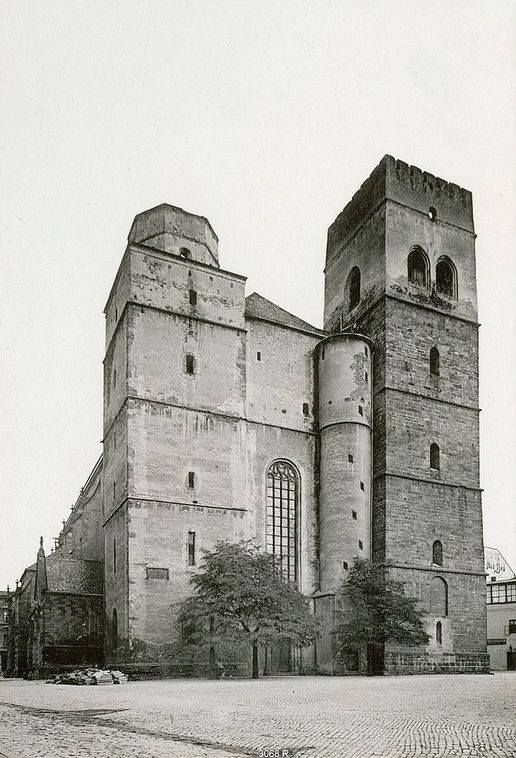 Kostel sv. Mořice — v Olomouc.