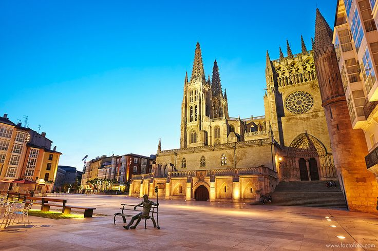 Cathedral of Saint Mary of Burgos. Spain