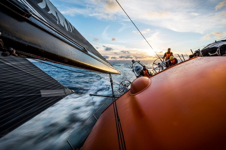 November 5, 2014. Leg 1 onboard Team Alvimedica.