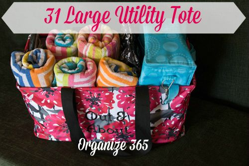 31 Large Utility Tote : Love mine for beach trips.   www.mythirtyone.com/scisneros