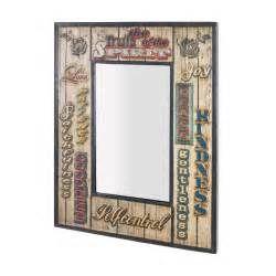 Suche Wandspiegel retro design metallrahmen sambia. Ansichten 131147.