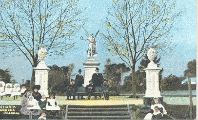 Victoria Gardens, ca. 1900.