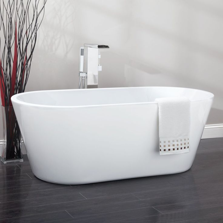 Best 25 freestanding tub ideas on pinterest bathtub Best acrylic tub