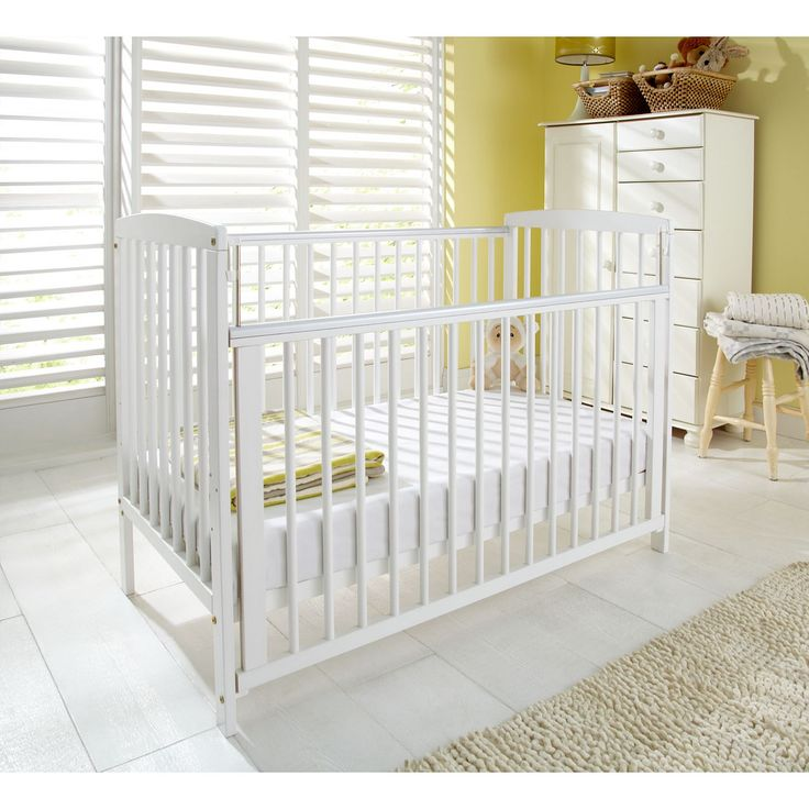 Kinder Valley Kai Cot White Cots Mattresses Asda Direct