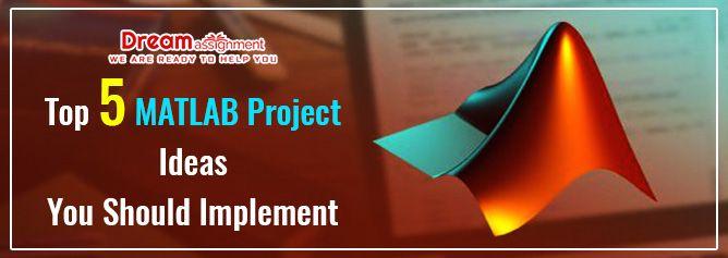 Top 5 MATLAB Project Ideas You Should Implement | Design program, Projects,  Algorithm
