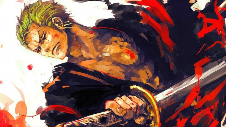 Katana Espada Roronoa Zoro One Piece HD Wallpaper 1920 × 1080