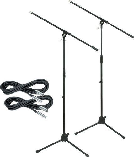 musician u0026 39 s gear tripod mic stand with 20 foot mic cable 2