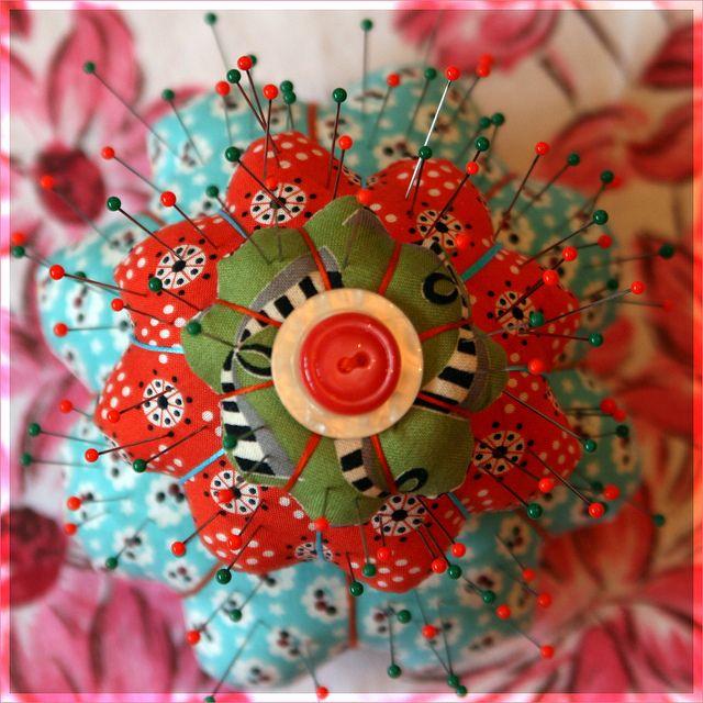 Petal Pincushion by PolkadotSparrow