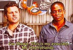 Shawn's introduction for Gus are always on point