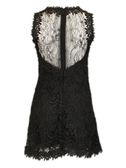 Zwarte jurk - Korte jurken - BoBo Tremelo