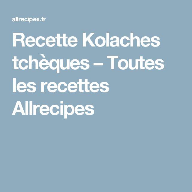 Recette Kolaches tchèques – Toutes les recettes Allrecipes