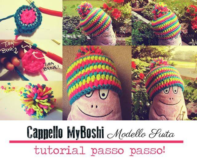 Cappellini MYBOSHI: Tutorial passo passo (ma per davvero!!! ;-)) by www.lunadeicreativi.com