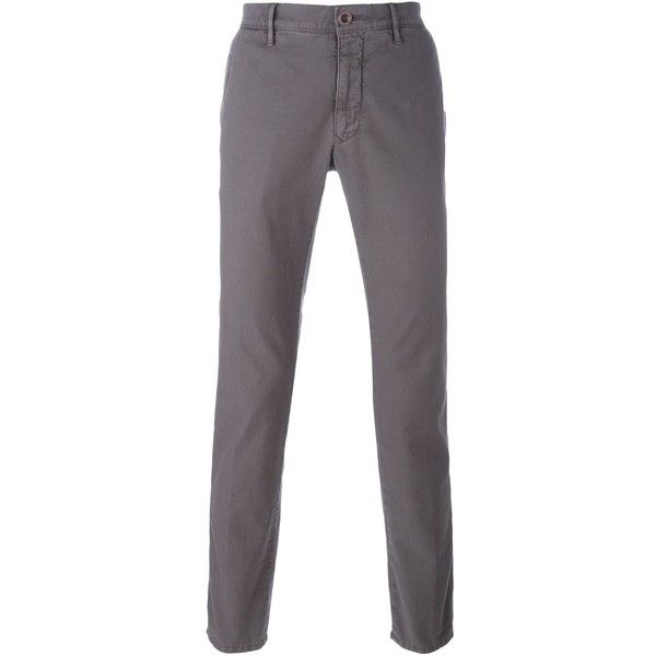 Incotex Skinny Cropped Chinos ($153) ❤ liked on Polyvore featuring men's fashion, men's clothing, men's pants, men's casual pants, mens skinny chino pants, mens chino pants, mens super skinny dress pants, mens skinny pants and mens cropped pants