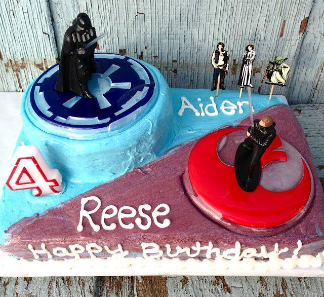 Easy Star Wars Cake Nifty Designs Pinterest
