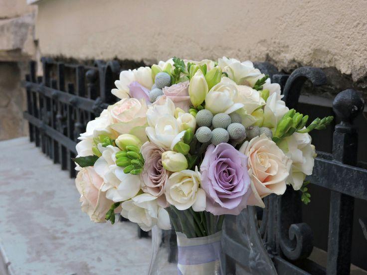 Moustakas flowers-Bridal bouquet mix flowers #roses #bridalbouquet #wedding #flowers #moustakasflowers