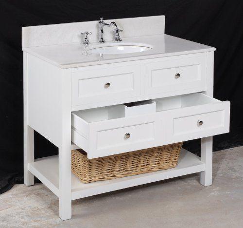 white 36 inch vanity amazon bathroom reno pinterest. Black Bedroom Furniture Sets. Home Design Ideas