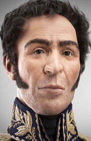 Así era el rostro del libertador, Simón Bolívar. #SimonBolivar #Libertador #Rostro