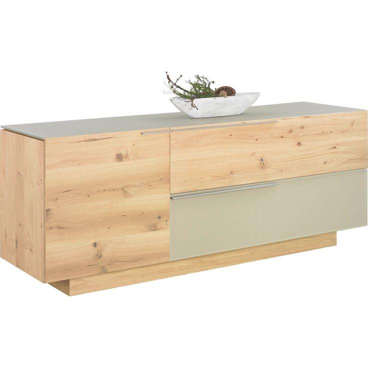 VOGLAUER SIDEBOARD Wildeiche mehrschichtige Massivholzplatte (Tischlerplatte) geölt, Braun Jetzt bestellen unter: https://moebel.ladendirekt.de/wohnzimmer/schraenke/sideboards/?uid=caba17da-d8df-5b4e-b4bb-47cfcb1dce02&utm_source=pinterest&utm_medium=pin&utm_campaign=boards #schraenke #wohnzimmer #sideboards