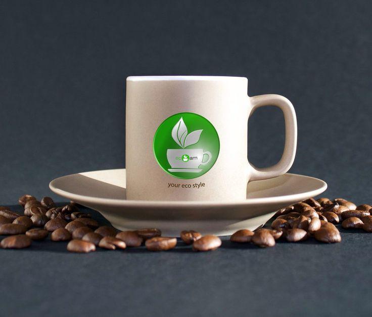logo ecoam-eco cafe by Malwina88