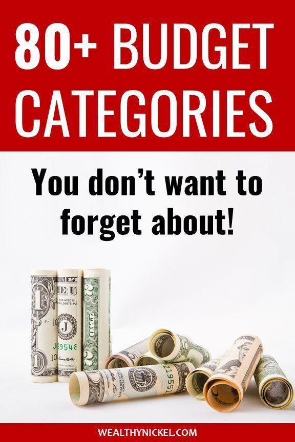 80+ Personal Budget Categories – Get Your Finances Under Control!