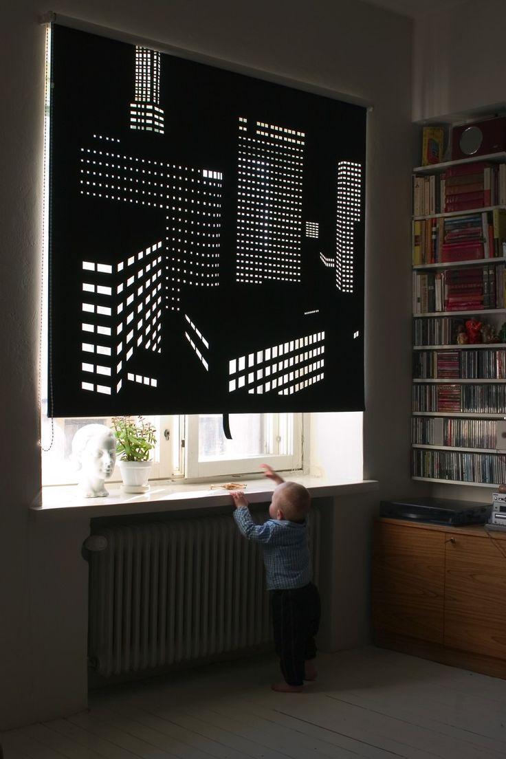 Жалюзи из ткани Black Out #blinds #rollershades #window #interior #детская #шторы #жалюзи #декорокна #рулонныежалюзи