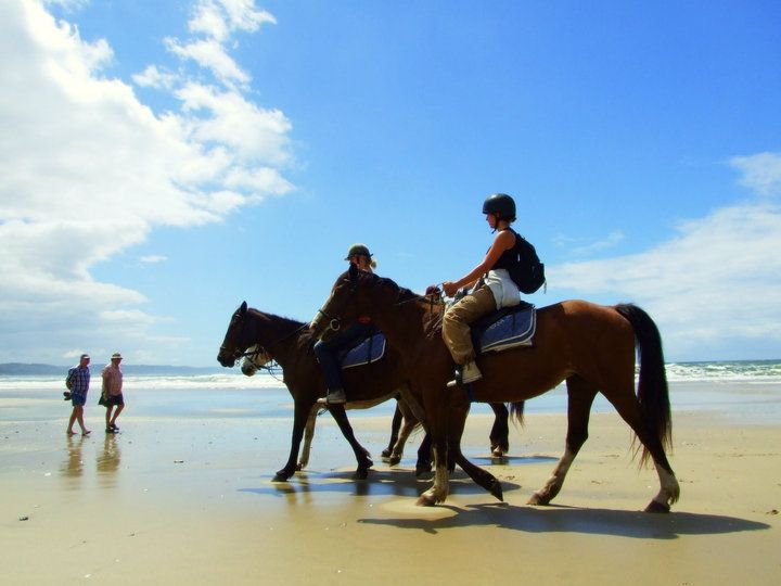 Horse riding on Cintsa Beach