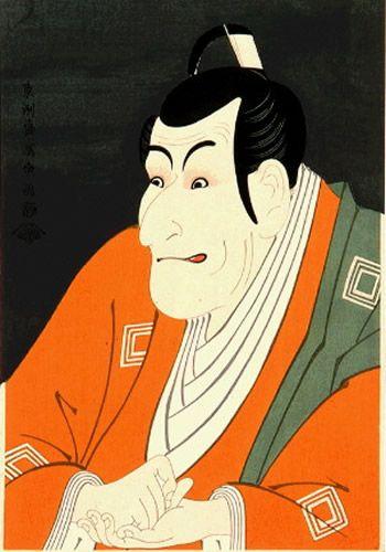 by Sharaku, Kansei era (1794), Japan